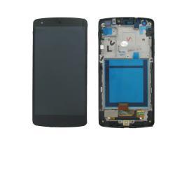 PANTALLA LCD DISPLAY + TACTIL CON MARCO PARA LG GOOGLE NEXUS 5 D820 D821 - NEGRA