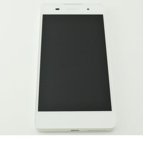 PANTALLA LCD DISPLAY + TACTIL CON MARCO ORIGINAL PARA SONY XPERIA E5 F3311 - BLANCA