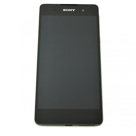 Pantalla LCD Display + Tactil con Marco Original para Sony Xperia E5 F3311 - Negra