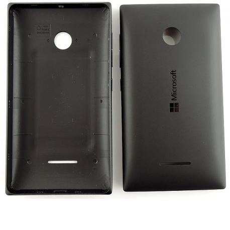 Carcasa Tapa Trasera de Bateria Original para Nokia Microsoft Lumia 435 - Negra