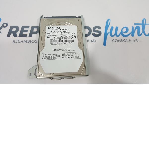 DISCO DURO TOSHIBA MK1676GSX HDD2J96 160 GB - RECUPERADO