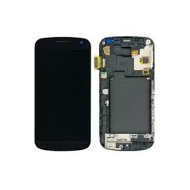 Pantalla tactil + lcd con marco display samsung galaxy nexus i9250 negro