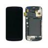 Pantalla tactil + lcd con marco display samsung galaxy nexus i9250 negro de desmontaje