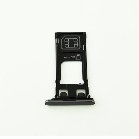 Bandeja de Tarjeta SIM y MicroSD para Xperia X Performance F8131 - Negra