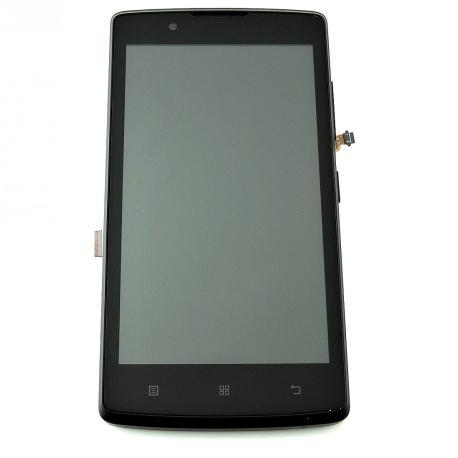PANTALLA LCD DISPLAY + TACTIL CON MARCO PARA LENOVO A2010 - NEGRA
