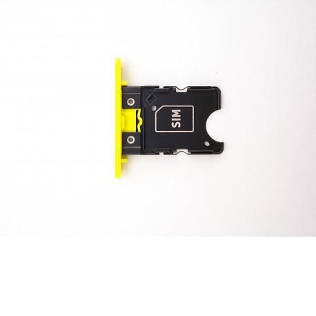 Bandeja de Tarjeta SIM para NOKIA Lumia 1020 - Amarilla