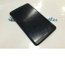 CARCASA TAPA TRASERA ORIGINAL LG G TABLET PAD 8.3 V500 - RECUPERADA