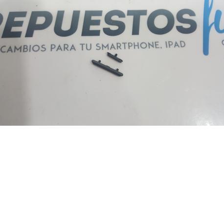 BOTONES PARA CARCASA ORIGINAL SAMSUNG GALAXY S4 ACTIVE I9295 AQUATICO