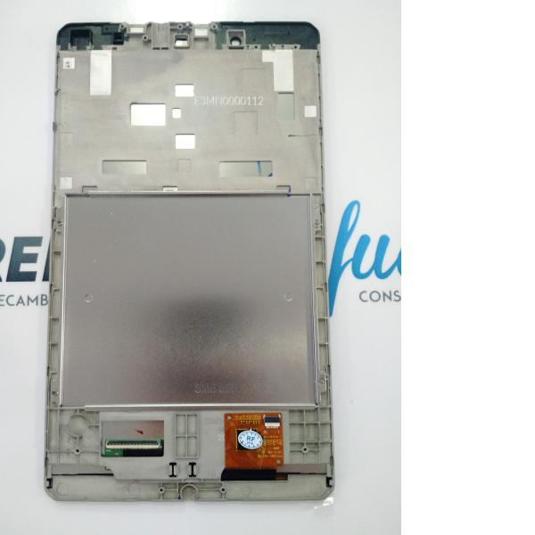 PANTALLA LCD DISPLAY + TACTIL CON MARCO ORIGINAL PARA BQ EDISON 3 MINI - NEGRA