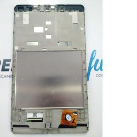 PANTALLA LCD DISPLAY + TACTIL CON MARCO ORIGINAL PARA BQ EDISON 3 MINI - BLANCA
