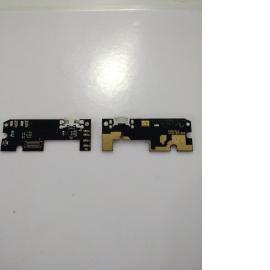 MODULO DE CONECTOR DE CARGA MICRO USB, ANTENA Y MICROFONO PARA BQ AQUARIS M5.5