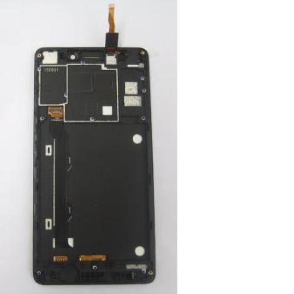 PANTALLA TACTIL + LCD DISPLAY CON MARCO PARA LENOVO K3 NOTE - NEGRA