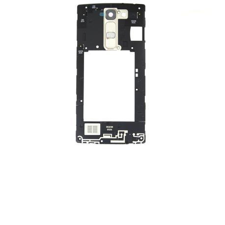 Carcasa Intermedia + Lente de Camara + Buzzer+ Boton Volumen y Encendido Original para LG H525N G4c - Oro