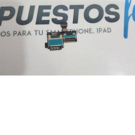 FLEX LECTOR SIM ORIGINAL SAMSUNG GALAXY S4 MINI I9195 - RECUPERADO
