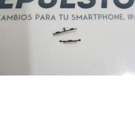 BOTONES CARCASA INTERMEDIA ORIGINAL SAMSUNG GALAXY S4 MINI I9195 - RECUPERADA