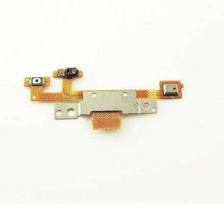 Flex de Encendido + Sensor + Microfono para Meizu M1 Note