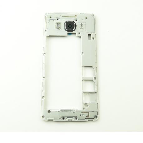Carcasa Intermedia con Lente para Samsung Galaxy J5 (2016) SM-J510F DUAL - Negra