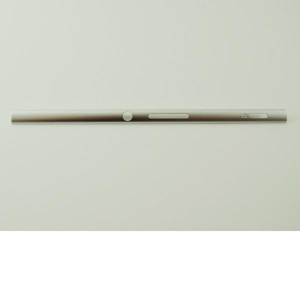 EMBELLECEDOR LATERAL DERECHO PARA SONY XPERIA XA F3111, XPERIA XA DUAL F3112 - PLATA