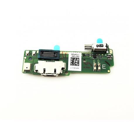 Modulo Conector de Carga MicroUSB, Vibrador y MIcrofono para Sony Xperia XA F3111, Xperia XA Dual F3112
