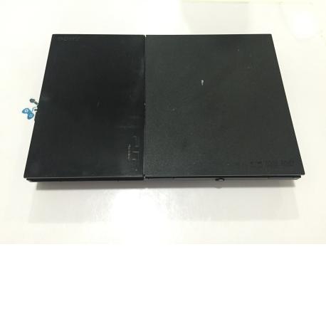 Carcasa Completa Original PS2 slim scph-90004 Negra - Recuperada