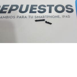 BOTONES CARCASA INTERMEDIA PARA SONY XPERIA M2 D2303, D2305, D2306 NEGRO - RECUPERADO