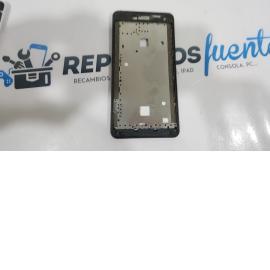 Pantalla Tactil + LCD Display con Marco Original para ZTE Blade L2 Negra - Recuperada