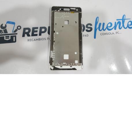Carcasa Marco Frontal ZTE BLADE L3 Blanca - Recuperada