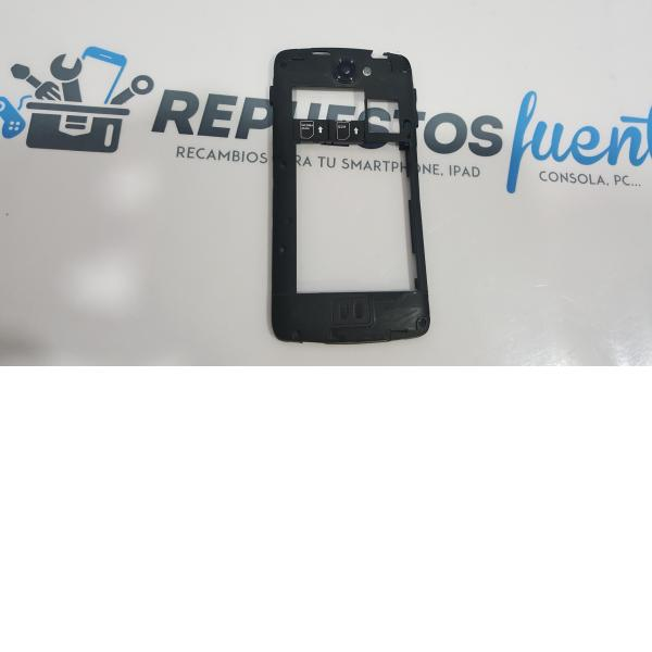 CARCASA INTERMEDIA ORIGINAL PARA AEG AX700 NEGRA - RECUPERADA