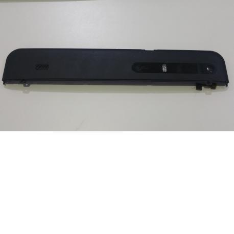 Carcasa superior + Jack de audio y flex de volumen para Tablet MOTOROLA XOOM MZ604 NEGRA - Recuperada