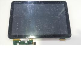 PANTALLA COMPLETA LCD + TACTIL CON MARCO PARA TABLET MOTOROLA XOOM MZ604 - RECUPERADA