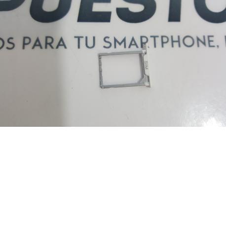 Bandeja de Tarjeta Sim Original Bq Aquaris E5 4G, E5s - Blanca / Recuperada
