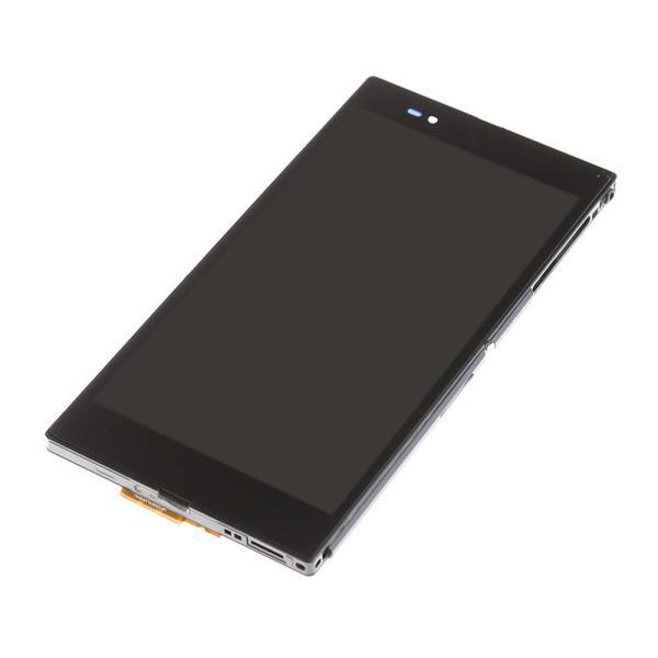 PANTALLA LCD + TACTIL CON MARCO ORIGINAL SONY XPERIA Z ULTRA XL39H BLANCA - RECUPERADA