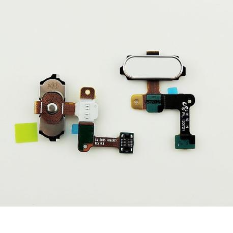 Flex Boton Home con Sensor de Huella Original para Samsung Galaxy Tab S2 9.7 T810 - Blanca
