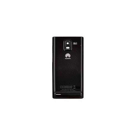 Carcasa trasera Huawei Ascend P1 U9200 Tapa Bateria Negro