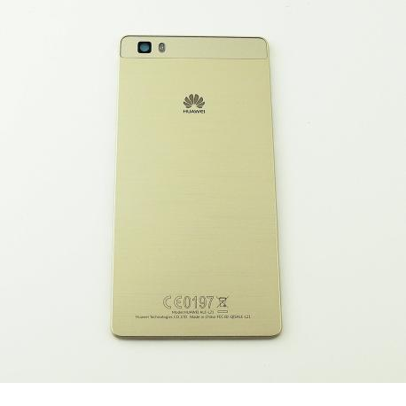 Carcasa Tapa Trasera de Bateria para Huawei Ascend P8 Lite - Dorada Oro