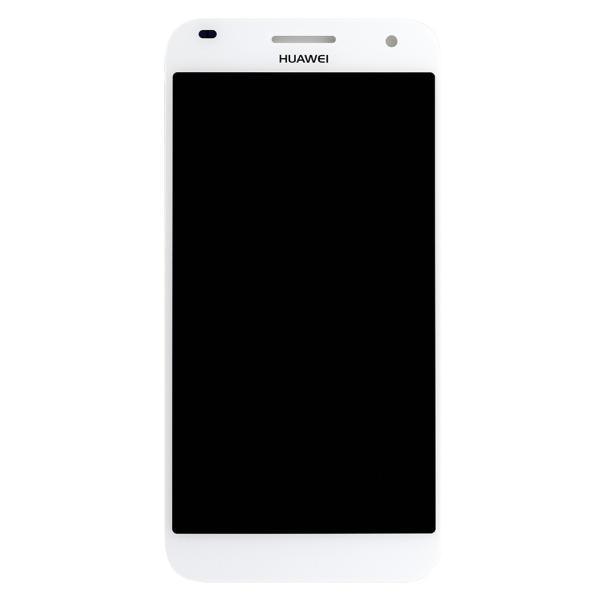 REPUESTO PANTALLA LCD DISPLAY + TACTIL PARA HUAWEI ASCEND G7 - BLANCO