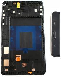 PANTALLA TACTIL + LCD DISPLAY CON MARCO ORIGINAL SAMSUNG GALAXY TAB 4 T230 - NEGRA