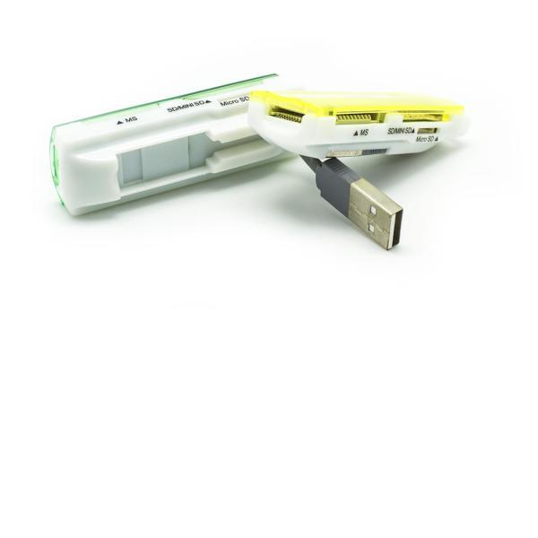 LECTOR MULTITARJETAS USB DE MEMORY STICK, SD , MINI SD Y MICRO SD1