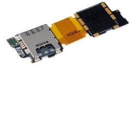 FLEX DE LECTOR DE TARJETA SIM PARA SAMSUNG GALAXY S5 G900F