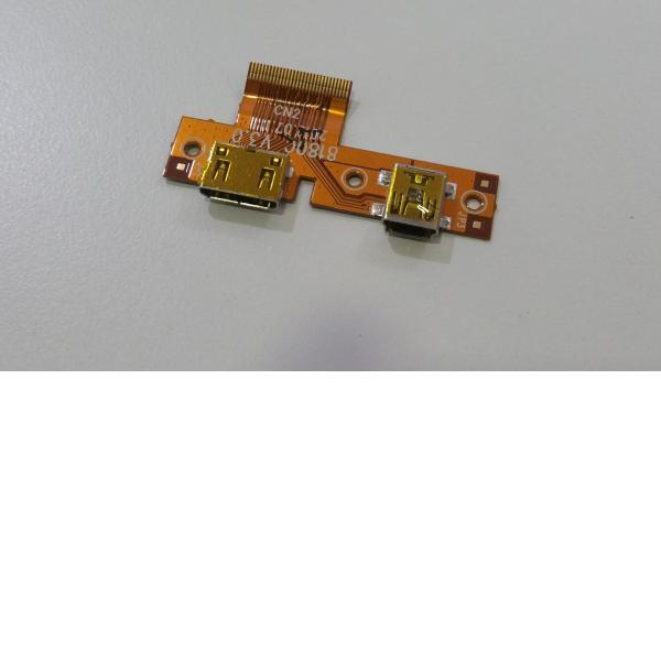 FLEX CONECTOR DE CARGA MINI USB Y HDMI PARA TABLET BQ MAXWELL LITE - RECUPERADO