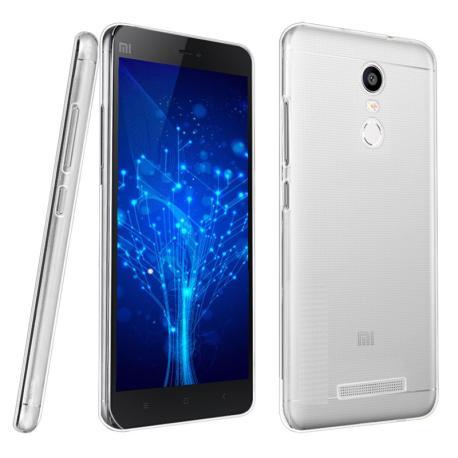 Funda de silicona para el Xiaomi Redmi Note 4 TPU Case - Transparente