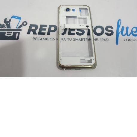 Carcasa Intermedia Samsung i9070 Galaxy S Advance blanco