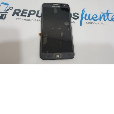 PANTALLA LCD + TACTIL CON MARCO ORIGINAL SAMSUNG ATIV S I8750 GRIS