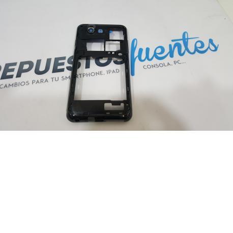 Carcasa Intermedia Samsung i9070 Galaxy S Advance Negra