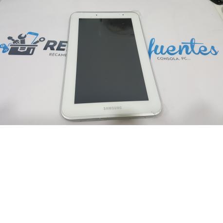PANTALLA LCD + TACTILL CON MARCO SAMSUNG GALAXY TAP 2 7.0 P3110 - BLANCA