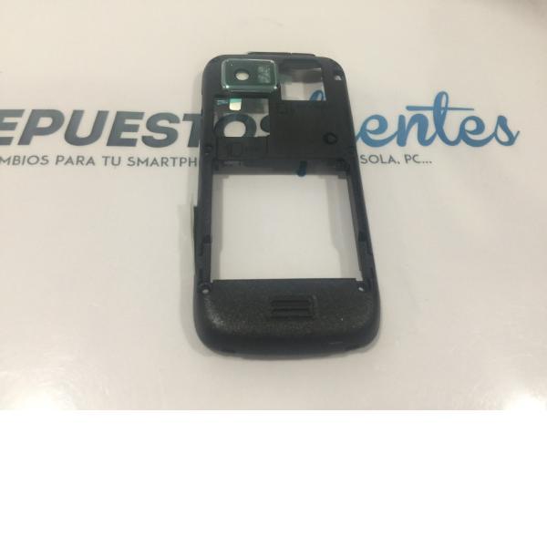 CARCASA INTERMEDIA NEGRA DE SAMSUNG S8000 JET