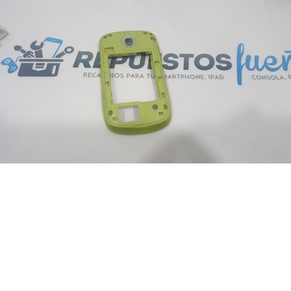MARCO FRONTAL SAMSUNG GALAXY MINI S5570 BLANCA