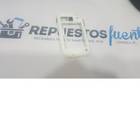 Carcasa Intermedia Original para Samsung Galaxy young s6310 - Blanca