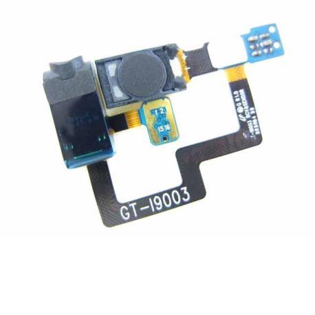 Flex Con Jack De Audio + Auricular + Sensor De Proximidad De Samsung Galaxy SCL i9003