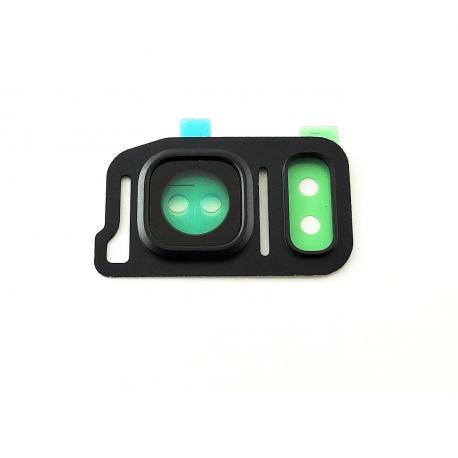 Embellecedor de Camara con Lente de Camara Samsung Note 7 N930F - Negro